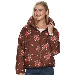 Sonoma Goods For Life | Brown Puffer Coat